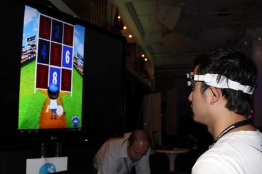 Фотография с международной конференции по нейрогеймингу