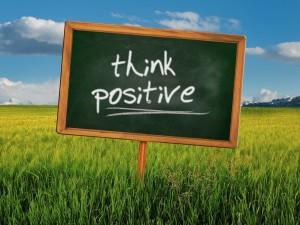 думать позитивно
